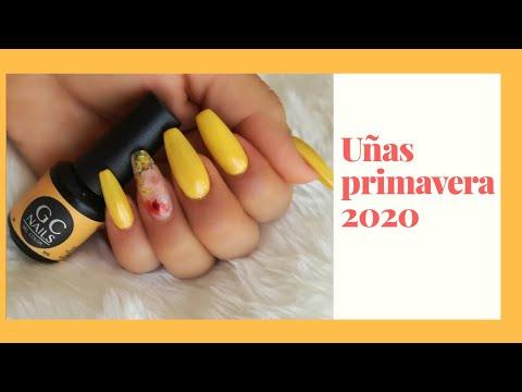 Diseños de uñas - Diseño  de uñas primavera 2019 con gc nails !!