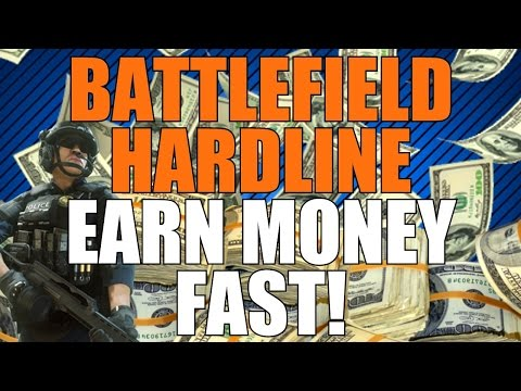 Battlefield Hardline: How To Earn Money FAST! (Battlefield Hardline Cash Guide)