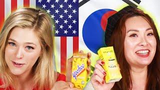 Americans & Koreans Swap Drinks