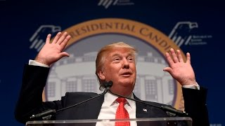 Video Donald Trump Speech to Republican Jews Filled with Anti-Semitic Stereotypes MP3, 3GP, MP4, WEBM, AVI, FLV Juli 2018