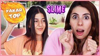 Yakartop Slime Challenge Parkta Slaym Eğlenceli Çocuk Videosu Dila Kent