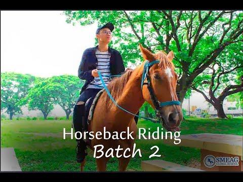 [Learning English] English Academy in Cebu, Philippines: Horseback Riding Batch 2