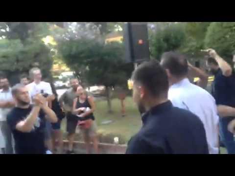 Video - Νεοναζί έξω από την ορκωμοσία Τζιτζικώστα -Ένταση με αντιφασίστες