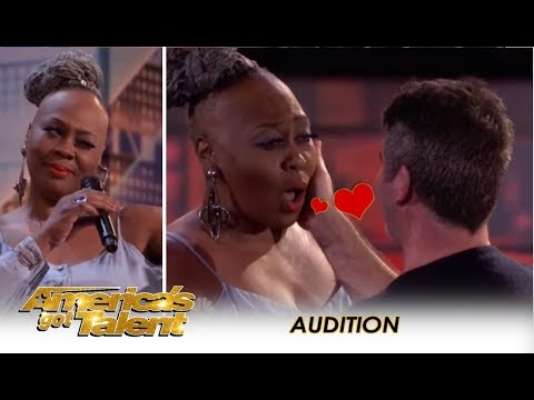 Simon Cowell Falls In LOVE With 'Ms. Trysh' But Then...   America's Got Talent 2018