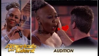 Video Simon Cowell Falls In LOVE With 'Ms. Trysh' But Then... | America's Got Talent 2018 MP3, 3GP, MP4, WEBM, AVI, FLV Januari 2019