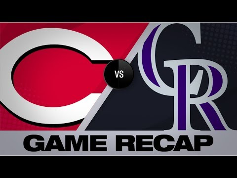 Video: McMahon, Rockies take down Reds | Rockies-Reds Game Highlights 7/14/19