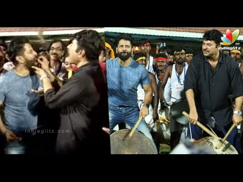 Mammootty-enlivens-Chiyaan-VIkram-Birthday-celebrations-along-with-Kollywood-celebrities