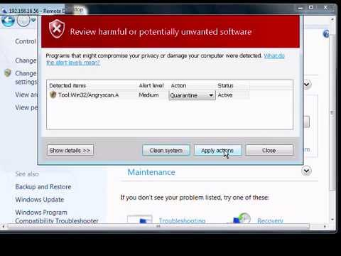 How To View And Remove Dangerous Programs In Windows 7
