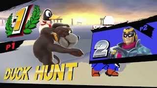 Duck Hunt does the Ken Combo