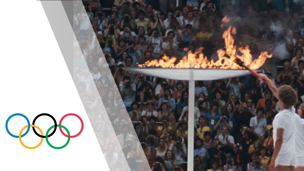 Montreal 1976 Olympic Games – Olympic Flame & Opening Ceremony