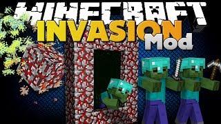 Minecraft Mod - INVASION MOD - NEW WEAPON AND METEOR STRIKE