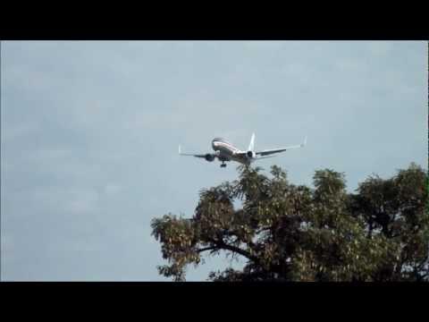 Boeing 767-300ER da American Airlines pousando em Confins ..wmv