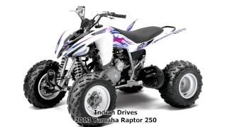 7. 2013 Yamaha Raptor 250 - Motocross ATV