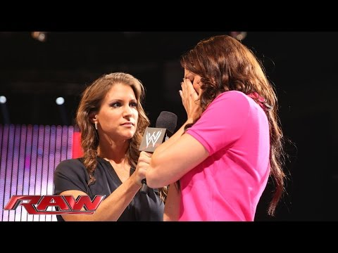 stephanie - Stephanie McMahon reveals Daniel Bryan has been having an affair with his physical therapist.