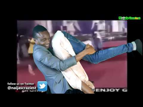 Pastor Body Slams Demons Out Of Members During Deliverance- Hilarious