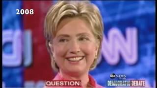 Hillary Clinton: casi 40 aguantando preguntas sexistas