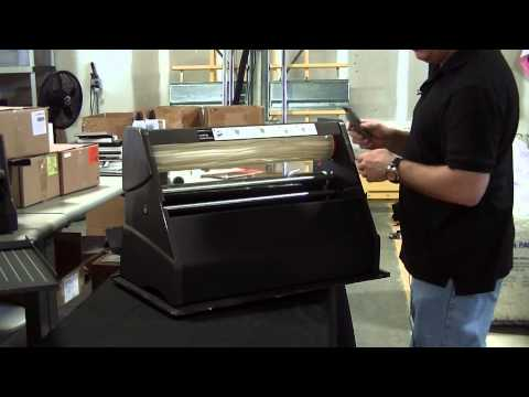 Remove laminate-Xyron 2500 aka CoolLam, ProFinish, Variquest Cold Laminator