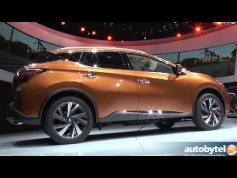 2015 Nissan Murano Overview and Highlights @ New York Auto Show