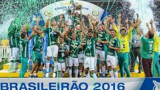 BRASILEIRÃO 2016  Palmeiras X  Chapecoense   JOGO DO TITULO