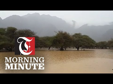 Heavy rain hit northern parts of Oman over the weekend. Roads and wadis were flooded with Musandam and Khansab hardest hit.