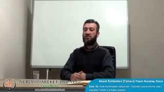 Tahavi Akidesi-Akaid Dersleri 10: Allah korkmadan öldürendir. Öldükten sonra dirilme nasıl olacaktır? Allah'ın sıfatları ezelidir.