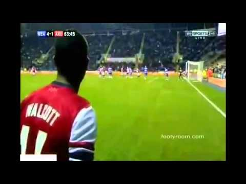 Arsenal Vs Reading 7-5 All Highlights And Goals 10-30-2012 HQ