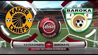 Video Absa Premiership 2018/19 | Kaizer Chiefs vs Baroka MP3, 3GP, MP4, WEBM, AVI, FLV April 2019