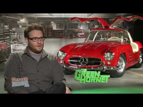 Michael Kosta Interview with Seth Rogen - Exclusive with Green Hornet Star