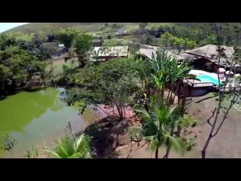 Clipe com imagens aéreas do Hotel Palmeira Imperial, em Valença / RJ