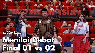 Video Nobar Debat Pilpres: Bawa Asyik Politik - Menilai Debat Final 01 vs 02 (Part 7) | Catatan Najwa MP3, 3GP, MP4, WEBM, AVI, FLV April 2019