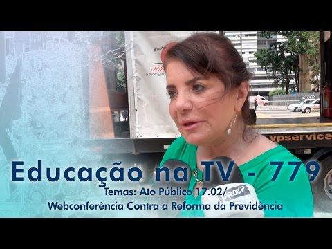 Ato Público 17/02 - Webconferência Contra a Reforma da Previdência