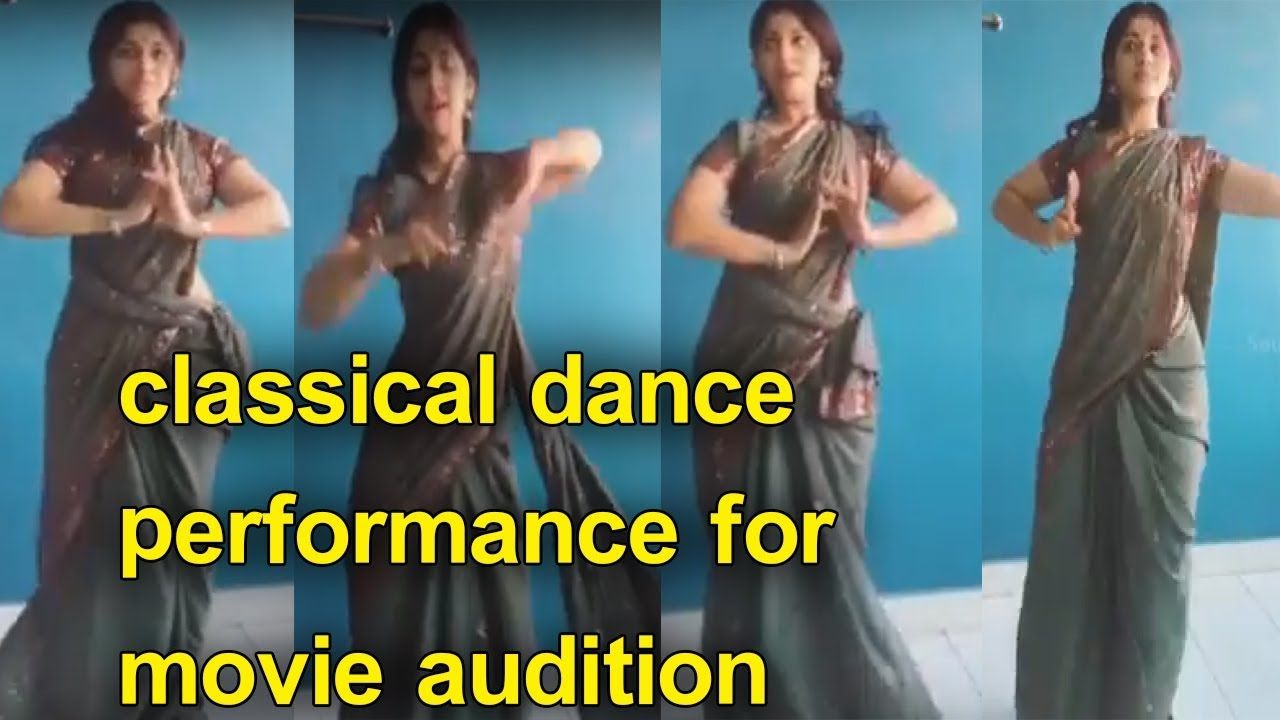 VERY HOT classical dance performance for movie audition
