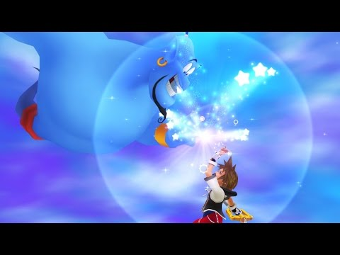 kingdom - Disney's Genie returns to help you as one of the sidekicks in the upcoming Kingdom Hearts HD 2.5 Remix.
