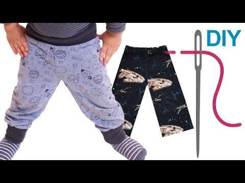 """Pumphose selber nähen, einfache Hose, """"MAXI"""" – auch für Erwachsene – nähen für Anfänger"""