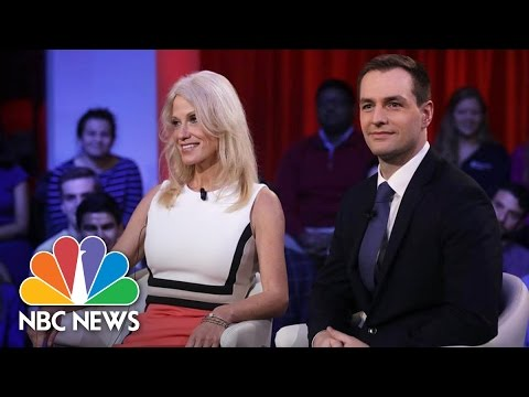 Donald Trump And Hillary Clinton Aides Tussle Over Campaign At Harvard | NBC News (видео)
