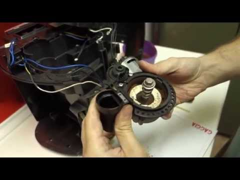 Saeco Odea/Talea - Coffee Grinder problems and repairs