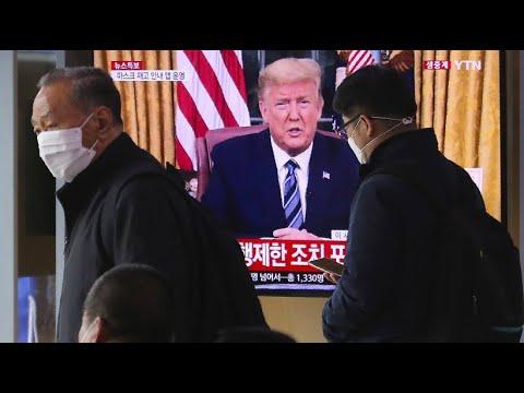 USA: Trump stoppt Einreisen aus EU-Ländern für 30 Tage - wegen schlechtem »Coronavirus«-Krisenmanagement