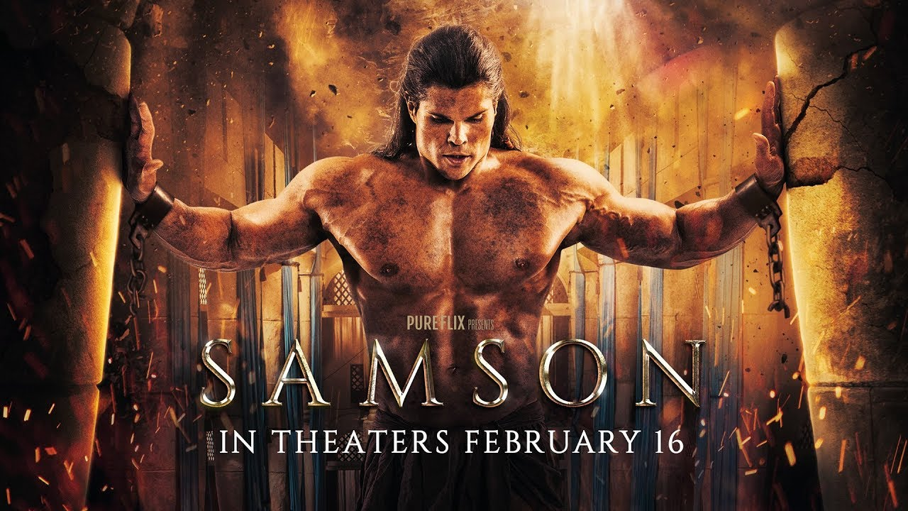 'Samson' is Chosen, Betrayed, & Redeemed in Biblical Story starring  Jackson Rathbone, Rutger Hauer & Lindsay Wagner