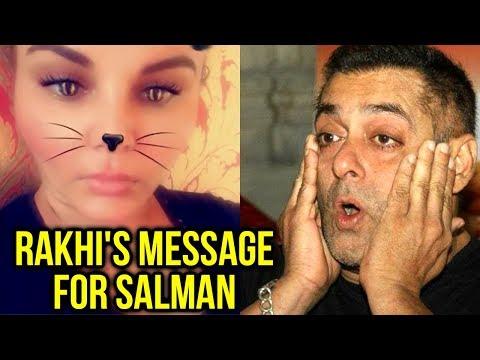 Rakhi Sawant Message For Salman Khan After He Got