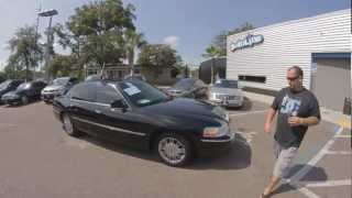 Autoline's 2008 LINCOLN Town Car Signature Limited  Walk Around Review Test Drive