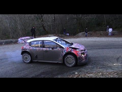 Tests C3 WRC 2017 K.Meeke/P.Nagle