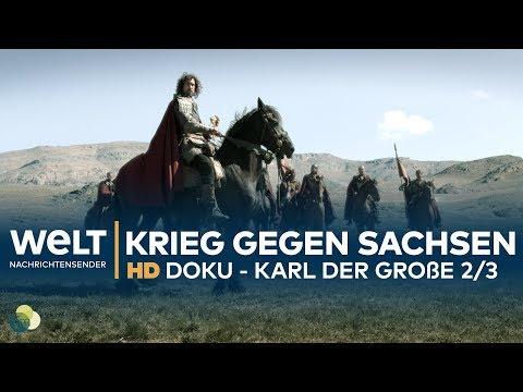 Karl der Große - Krieg gegen die Sachsen (2/3) | HD Doku-Drama