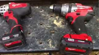 MIlwaukee M18 FUEL - Brushless drill dies after 2 weeks