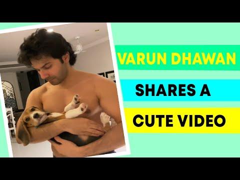Varun Dhawan shares an adorable video with his pet