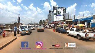 KAMPALA CITY - UGANDA  from Kololo Airstrip Drone Footage