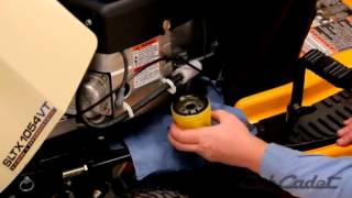 6. How to Change the Oil and Filter on a Cub Cadet Riding Lawn Mower