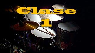 CLASE 1 BATERIA  CRISTIANA Principiantes