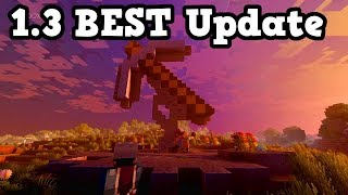 Why Minecraft Xbox / PE 1.3 Is The MOST Exciting Update