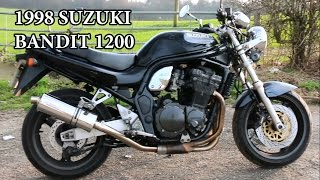 4. 1998 Suzuki Bandit GSF 1200 - Motorcycle Review