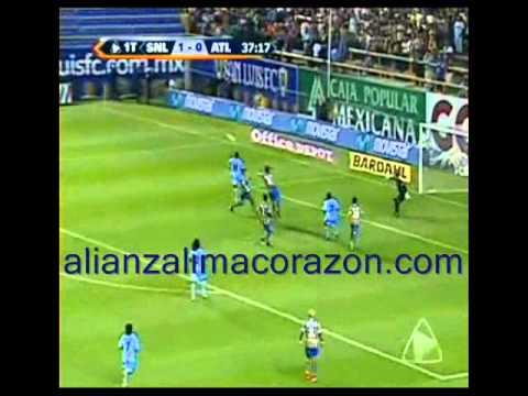 San Luis 2 Vs 1 Atlante - Gol del Zorrito Wilmer Aguirre